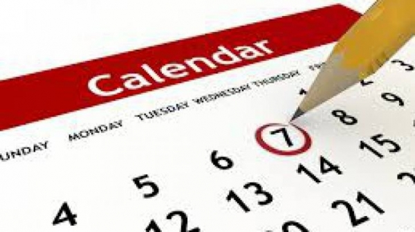Calendarul ZILELOR LIBERE in 2014