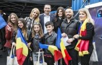 FOTO! Victor Ponta și Daciana Sarbu, la Eurovision