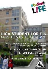 """""""Saptamana Altfel"""" in AFI Palace Ploiesti. Liga Studentilor UPG, gazda evenimentului"""