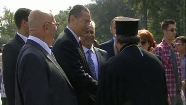 Victor Ponta, de Sfânta Maria Mică la slujba religioasă de la Maglavit VIDEO
