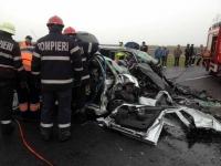 Accident grav pe DN1 A, la Măneciu, în Prahova