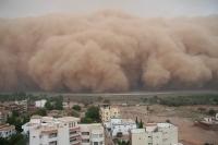 ATENTIE! Un val de praf din deşertul Sahara ajunge, vineri, in România FOTO