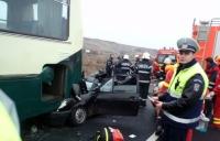 Accident in zona Manastirii Ghighiu. Vezi care este starea victimelor