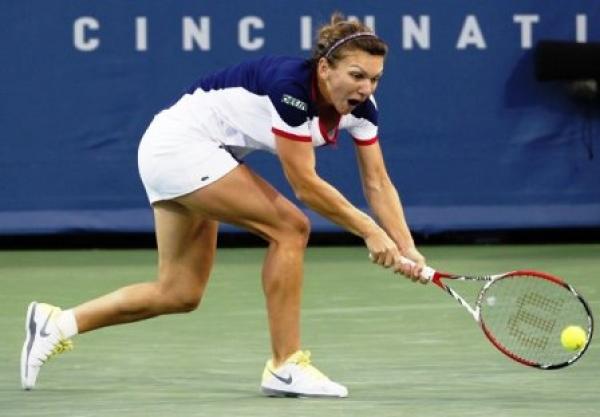 Simona Halep s-a calificat în optimi la Cincinnati