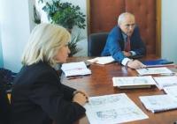 Mircea Cosma si Rodica Paraschiv, in discutii privind modernizarea Hipodromului Ploiesti