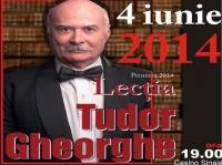 Iti place Tudor Gheorghe? Ai ocazia sa-l vezi in spectacol, la Sinaia