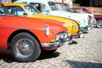 Retroparada maşinilor de colecţie, din nou pe Drumul Vinului