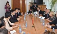 Noi investitii in Prahova. Mircea Cosma si Rodica Paraschiv au primit vizita unei delegatii chineze