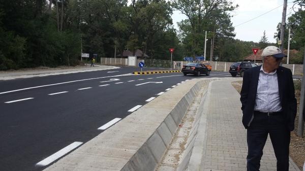 Exemplu pentru marile orase! Vezi cum arata nou finalizata intersectie de langa Padurea Paulesti