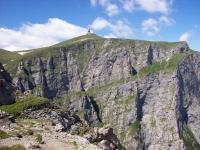 Turista la un pas sa isi piarda viata in Masivul Bucegi