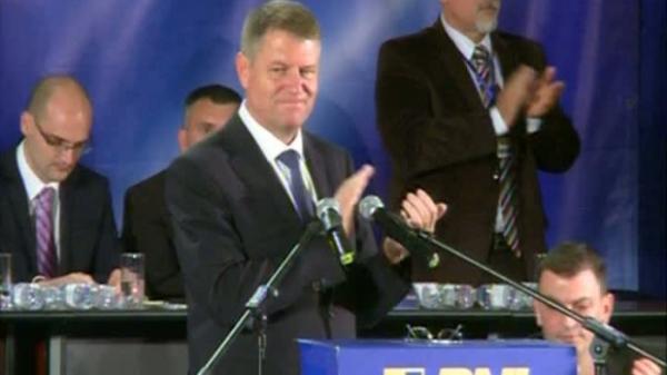 CONGRES PNL. Klaus Iohannis este noul presedinte al partidului, ales cu un scor zdrobitor