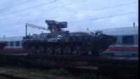Tancuri militare de luptă, surprinse în Ploieşti GALERIE FOTO