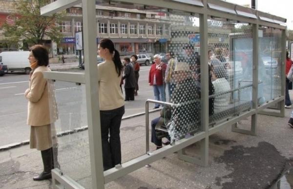 """Cum vine asta? Un autobuz a """"uitat"""" sa vina in statie, iar oamenii au luat taxiul..."""