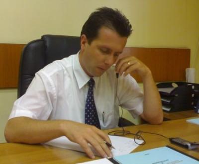 Ultima zi de vicepreşedinte al CJP pentru Auraş Dragomir