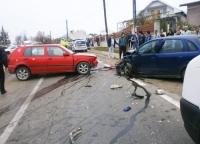 Accident rutier soldat cu o victima, langa AFI Ploiesti