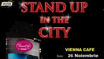 Vineri, stand-up comedy la Vienna Cafe