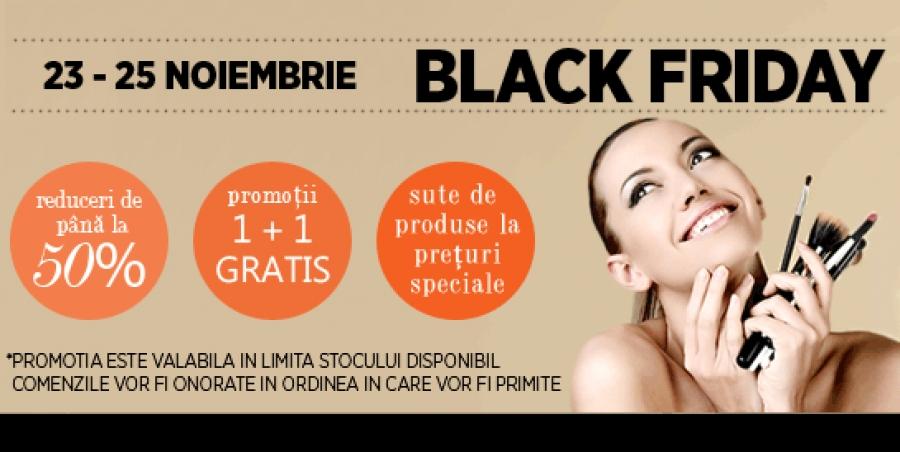 Oferta Black Friday Cosmetice Si Produse Pentru Machiaj Reduse Cu