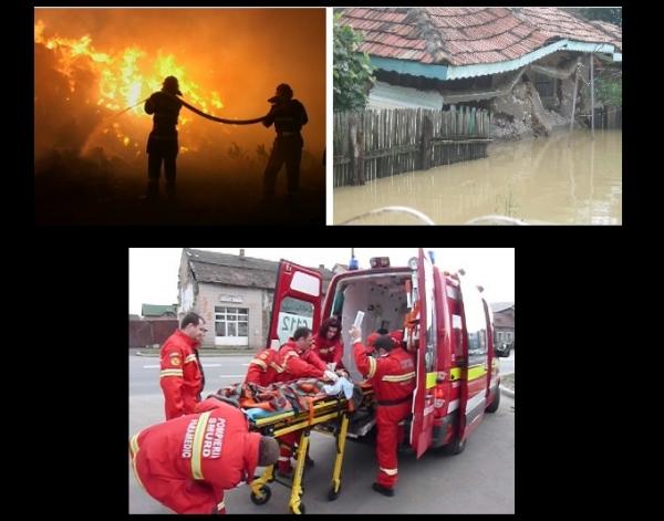 """""""1 Mai"""" cu incendii si inundatii. Zeci de prahoveni, salvati de pompierii ISU"""