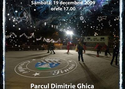 Sambata se deschide patinoarul din Sinaia