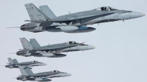 Şase aeronave CF-18 Hornet ale Forţelor Aeriene ale Canadei au ajuns în România