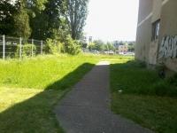 O gradinita din Ploiesti, de rasul lumii, pe Facebook. Vezi cum au tuns iarba numai in zonele care se vad din strada