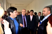 Ministrul Sanatatii si presedintele CJ Prahova, in vizita la Spitalul Judetean