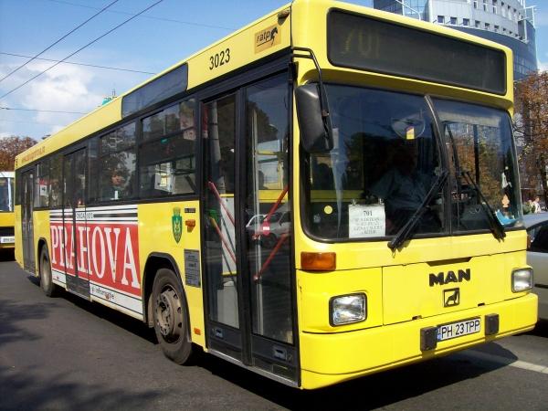Cum circula autobuzele din Ploiesti de Sfanta Maria