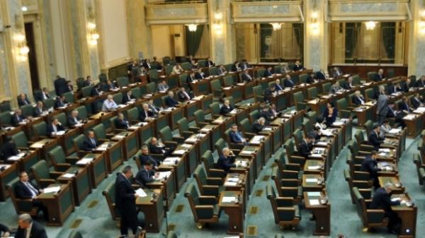 Senatul a ADOPTAT reducerea CAS. SCANDAL la şedinţa de plen: PNL şi PDL au părăsit sala