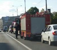 Accident pe Bd. Republicii. Un copil a fost lovit de masina FOTO