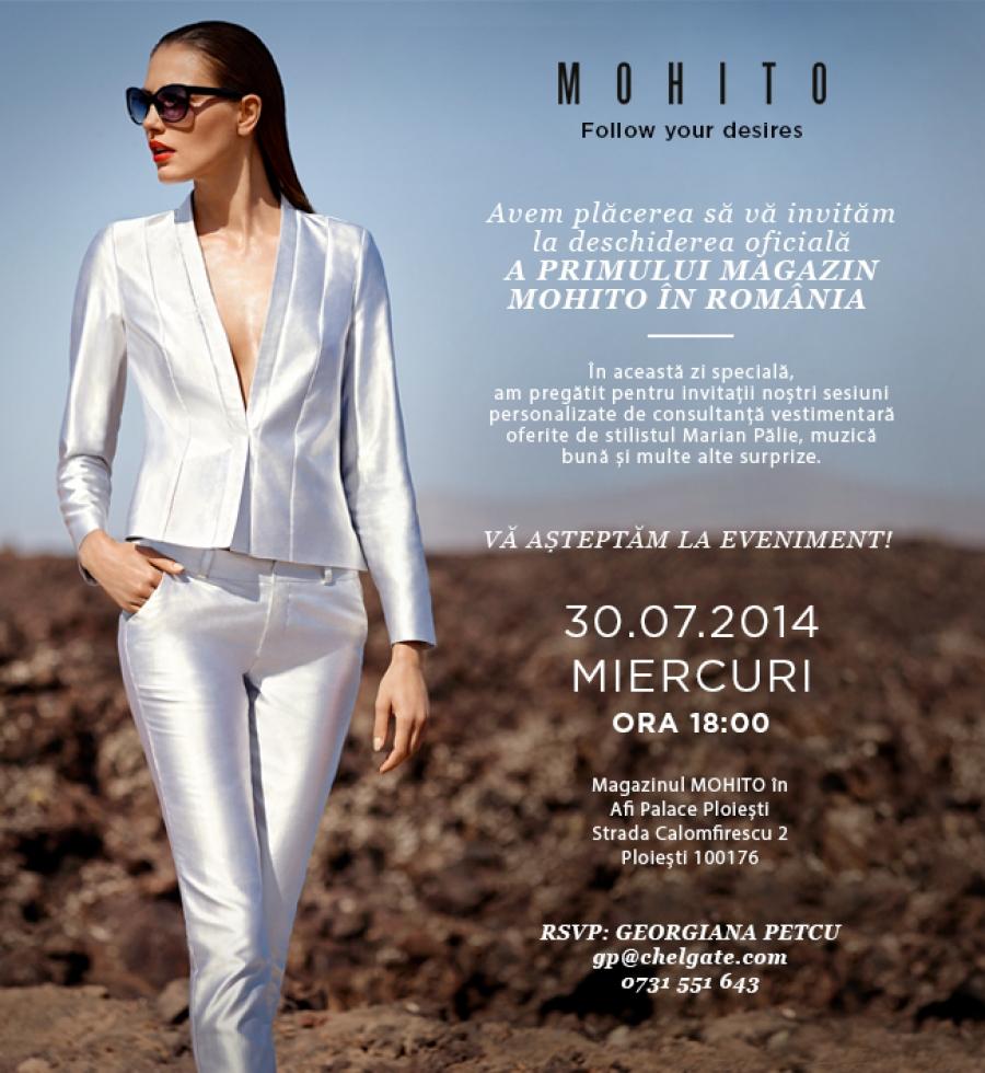 Primul magazin de haine MOHITO din Romania se deschide in ...