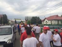 Aida Iarca, dorita la Primaria Magureni: Sute de oameni au iesit pe strada pentru a o sustine