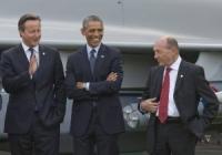 Fotografia de care râde TOATĂ EUROPA! Traian Băsescu s-a făcut de râs în fața lui Obama