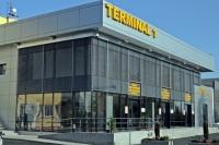 Terminal de pasageri şi sens giratoriu în zona Nord a Ploieştiului