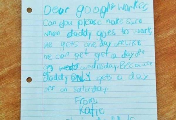 Ce răspuns năucitor a primit o fetiţă care a avut curajul să-i scrie angajatorului tatălui ei, Google