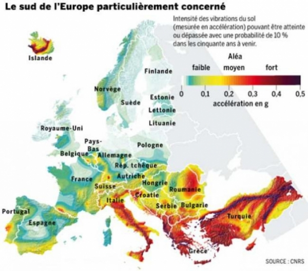 Harta care dă fiori României. Seisme fără precedent ameninţă Europa