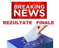 BREAKING NEWS/ Exit-poll FINAL. Vezi REZULTATELE alegerilor europarlamentare