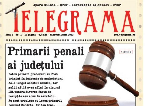Telegrama, noul ziar al Prahovei