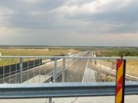 Ieșire către Snagov, pe Autostrada Bucureşti-Ploieşti