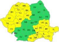 CODUL GALBEN de CANICULA, prelungit pentru Prahova
