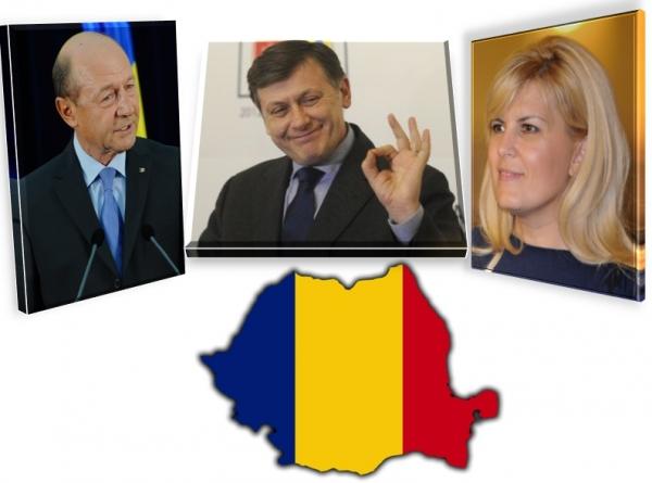 Băsescu-Antonescu-Udrea au format alianţa BAU-BAU