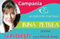 """Irina Petrea de la """"Copii contra parinti"""" vine in Ploiesti"""