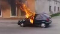 TRAGEDIE: Un politician a ARS de viu în propria maşină VIDEO