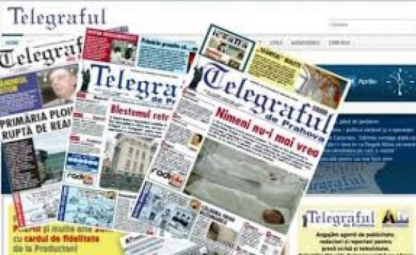 Telegraful de Prahova renunta la editia tiparita!