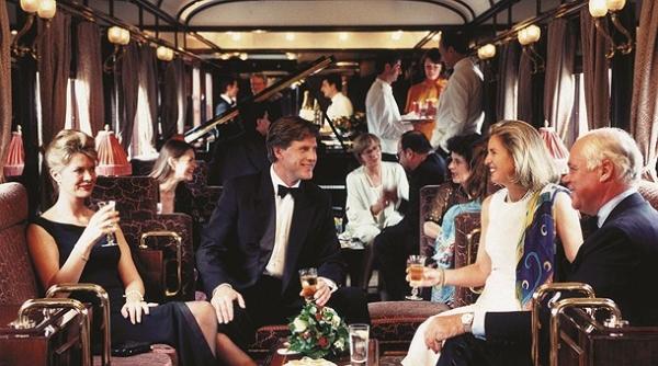 Trenul Orient Express s-a oprit in Prahova