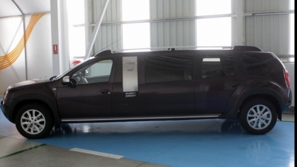 Dacia a construit DUSTERUL LIMUZINĂ. Maşina poate fi văzută deja pe stradă