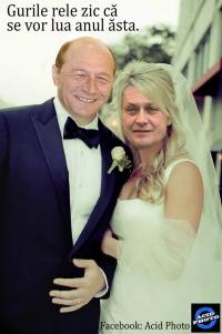 """S-au luat cu acte: Crin Antonescu devine oficial """"soția"""" lui Traian Băsescu"""