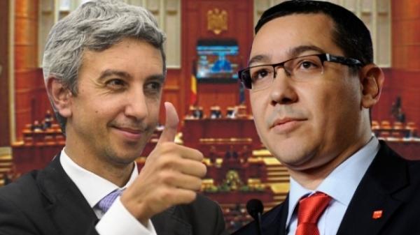 PROTOCOL PSD-PPDD. Partidul lui DD primeşte un post de ministru şi patru funcţii de secretar de stat