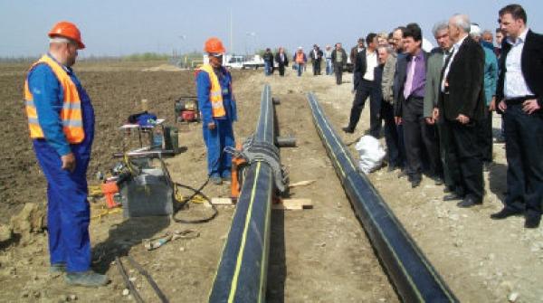 CJ Prahova a inceput alimentarea cu apa si gaze naturale a comunei Puchenii Mari