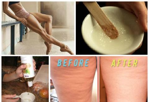 Uleiul care poate să topească celulita. Înrosește pielea, semn că funcționează cu adevărat.