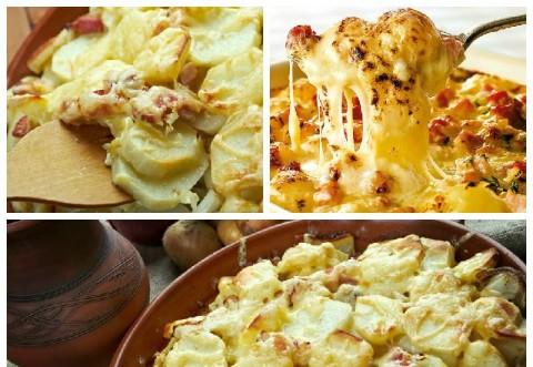 Ce poți să gătești diseară, ieftin și bun. Cei mai buni cartofi gratinați din 4 ingrediente